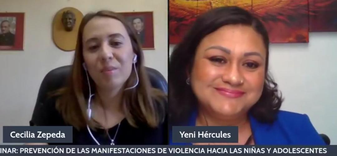 Webinar sobre la Prevención de las manifestaciones de violencia en niñas y adolescentes